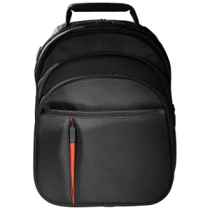 "ECO STYLE Luxe ELUX-BP14 Carrying Case (Backpack) for 16.1"" Notebook, Netbook, iPad - Orange, Black - Ethylene Vinyl Acetate (EVA)"
