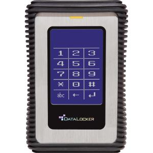 "DataLocker DL3 DL1000V3 1 TB 2.5"" Encrypted External Hard Drive - 1 Pack - Box - USB 3.0 - SATA/300"
