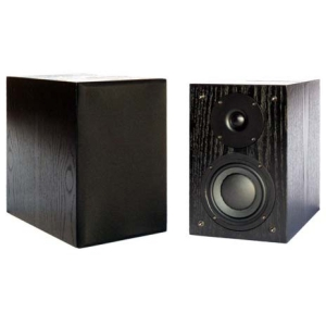 New Wave Audio BK-52 50 W RMS Speaker - 2-way - Black Oak - 55 Hz to 20 kHz - 8 Ohm - Bookshelf