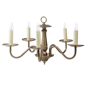 Liz Jordan Lighting 1214TM Topaz Mist Mid Sized Chandelier from the Colony Collection
