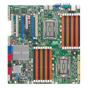 Asus KGPE-D16 Server Motherboard - AMD SR5690 Chipset - Socket G34 LGA-1944 - SSI EEB 3.61 - 2 x Processor Support - 256 GB DDR3 SDRAM Maximum RAM - Serial ATA/300 - On-board Video Chipset - 4 x PCIe x16 Slot