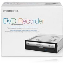 Memorex 98240 Internal DVD-Writer - DVD±R/±RW Support - 48x Read/48x Write/32x Rewrite CD16x Read/24x Write/6x Rewrite DVD - Double-layer Media Supported - Serial ATA/150 - 5.25""