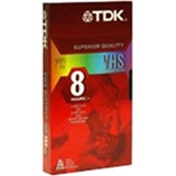 TDK Life on Record 38645 VHS Videocassette - VHS - 2 Hour (10 pack)