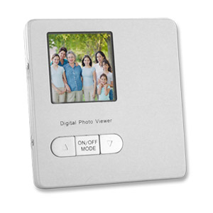 "Thin 1.5"" Digital Photo Viewer Frame perfect for Wallets - Bulk"