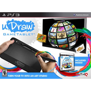 uDraw Game Tablet with uDraw Studio: Instant Artist (Playstation 3)