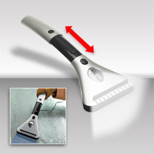 Perfect Solutions Deluxe Electric Telescoping Windshield Scraper