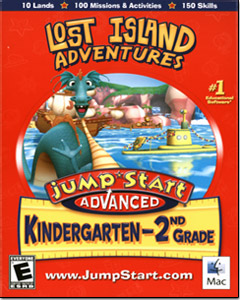 Jumpstart K-2: Lost Island Adventures (Mac OS)