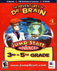 Jumpstart 3-5: Adventures of Doctor Brain (Macintosh)