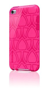 Belkin iPod Touch Grip Vue Vapor-Lotus/Coral (for 4th Gen)