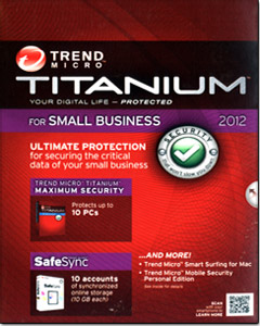Titanium for Small Business 2012 - 10 Users