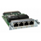 Cisco VWIC3-4MFT-T1/E1 Voice/WAN Interface Card - 4 x T1/E1 WAN