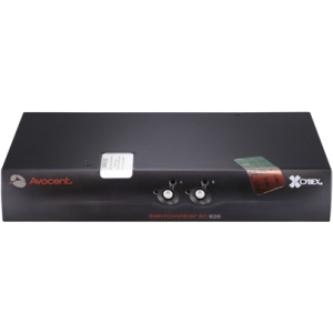 AVOCENT SwitchView SC620 KVM Switch - 2 Computer(s) - 4 x USB - 3 x DVI