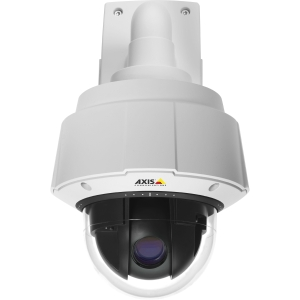 Axis Q6035-E Surveillance/Network Camera - Color, Monochrome - 20x Optical - CMOS - Cable - Fast Ethernet