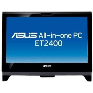 "Asus ET2400IGTS-B044E Desktop Computer - Intel Core i5 i5-2400S 2.50 GHz - All-in-One - Black - 23.6"" Touchscreen Full HD Display - 6 GB RAM - 1 TB HDD - B"