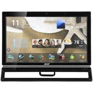 "Acer Aspire PW.SHMP2.001 Desktop Computer - Intel Pentium G620 2.60 GHz - All-in-One - 23"" Touchscreen Full HD Display - 4 GB RAM - 1 TB HDD - DVD-Writer -"