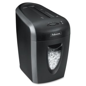 Fellowes Powershred 59Cb Cross-Cut Shredder - Cross Cut - 9 Per Pass - 4 gal Waste Capacity