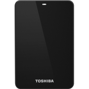Toshiba Canvio HDTC605XK3A1 500 GB External Hard Drive - Black - USB 3.0 - 5400 rpm - 8 MB Buffer