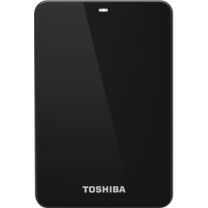 Toshiba Canvio HDTC607XK3A1 750 GB External Hard Drive - Black - USB 3.0 - 5400 rpm - 8 MB Buffer