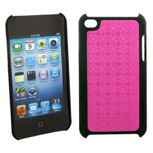 Body Glove iPod Touch 4G Pink Snap Case