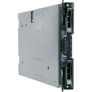 IBM 7870H2U Blade Server - 1 x Intel Xeon 2.66 GHz - 2 Processor Support - 6 GB Standard/96 GB Maximum RAM - Serial Attached SCSI (SAS) RAID Supported Controller - Gigabit Ethernet - RAID Level: 0, 1, 1E