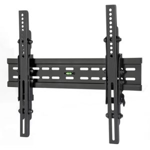 "Level Mount Ultra Slim PT400 Wall Mount for Flat Panel Display - 10"" to 40"" Screen Support - 200.00 lb Load Capacity - Black"