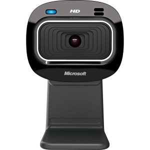 Microsoft LifeCam HD-3000 Webcam - USB 2.0 - 1280 x 720 Video - CMOS Sensor - Fixed Focus - Widescreen - Microphone