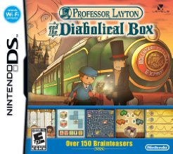 Professor Layton and the Diabolical Box (Nintendo DS)