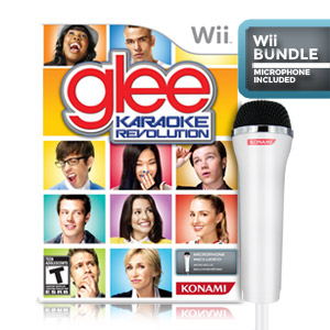 Karaoke Revolution Glee Bundle (Nintendo Wii)