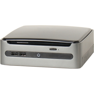 AOpen miniPC MP57-D - Intel QM57 Express Chipset - Socket H LGA-1156 - 1 x Total Processor - Core i3, Core i5, Core i7 Support - Black - 8 GB Maximum RAM - DVD-