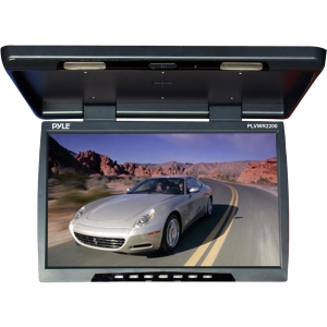 "Pyle PLVWR2200 22"" Active Matrix TFT LCD Car Display - 16:9 - 1820 x 1080 - IR Transmitter - Roof-mountable"