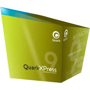 Quark QuarkXPress v.9.0 - Version Upgrade Package - 1 User - Desktop Publishing - Standard Retail - DVD-ROM - PC, Intel-based Mac