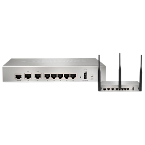 SonicWALL NSA 220 TotalSecure - 7 Port - 1 Expansion Slot