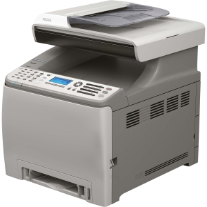 Ricoh Aficio SP C240SF Laser Multifunction Printer - Color - Plain Paper Print - Desktop - Printer, Scanner, Copier, Fax - 16 ppm Mono/16 ppm Color Print - 2400 x 600 dpi Print - 16 cpm Mono/16 cpm Color Copy LED - 1200 dpi Optical Scan - Automatic Duplex