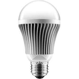 Aluratek LED Light Bulb - Frosted - Cool White - 110 V AC, 220 V AC - E26