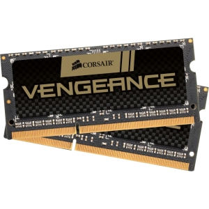 Corsair Vengence 8GB DDR3 SDRAM Memory Module - 8 GB (2 x 4 GB) - DDR3 SDRAM - 1866 MHz DDR3-1866/PC3-15000 - Non-ECC - Unbuffered - 204-pin SoDIMM
