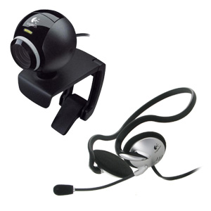 Logitech QuickCam IM Plus Headset With Microphone Included (960-00190)