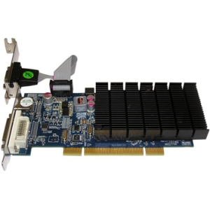 Jaton VIDEO-339PCI-HLX Radeon HD 5450 Graphic Card - 512 MB DDR3 SDRAM - PCI - Low-profile - 2560 x 1600 - Passive Cooler - DirectX 11.0 - HDMI - DVI - VGA