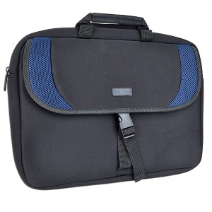 "Targus 15.6"" Slipcase Sport Notebook Sleeve - CVR20201 (Black/Blue)"