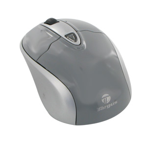Targus Wireless Optical Stow-N-Go Notebook Mouse (AMW2501X) Gray/Silver
