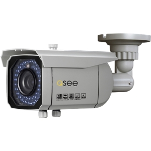 Q-see Elite QD6501B Surveillance/Network Camera - Monochrome, Color - 4.3x Optical - CCD - Cable