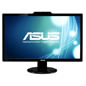 "Asus VG278H 27"" 3D LCD Monitor - 16:9 - 2 ms - Adjustable Display Angle - 1920 x 1080 - 16.7 Million Colors - 300 Nit - 50,000,000:1 - Speakers - DVI - HDMI - VGA - Black"