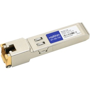 AddOn - Network Upgrades Cisco SFP-GE-T Compatible 1000BASE-TX SFP - 1 x 1000Base-T