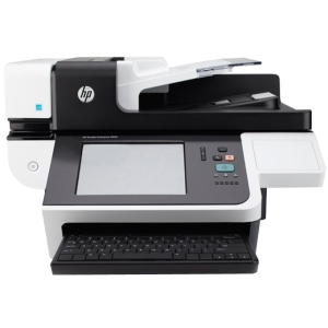 HP Scanjet 8500 fn1 Flatbed Scanner - 24-bit Color - 8-bit Grayscale - USB - Ethernet