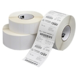 "Zebra Label Paper 4x6in Direct Thermal Zebra Z-Select 4000D - 4"" Width x 6"" Length - 12 / Carton - Rectangle - 475/Roll - 1"" Core - Paper - Direct Thermal - White"