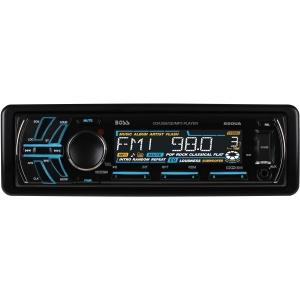 Boss 650UA Car CD/MP3 Player - 240 W RMS - iPod/iPhone Compatible - Single DIN - CD-RW - CD-DA, MP3 - AM, FM - 18, 12 x FM, AM Preset - Secure Digital (SD) Card - USB - Auxiliary Input - Detachable Front Panel