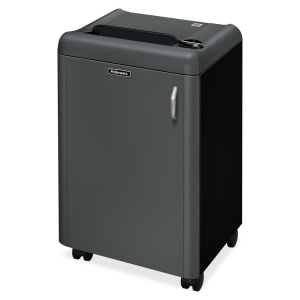 Fellowes Powershred HS-440 Shredder (High Security) - TAA - Cross Cut - 4 Per Pass - 13gal Waste Capacity