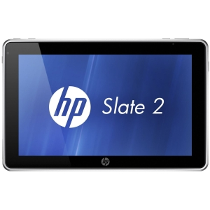 HP Slate 2 B2A29UT 8.9&quot; LED Slate Net-tablet PC - Wi-Fi - Intel - Atom Z670 1.5GHz - Multi-touch Screen 1024 x 600 WSVGA Display - 2 GB RAM - 32 GB SSD - Intel Graphics Media Accelerator 600 Graphics - Bluetooth - Genuine Windows 7 Home Premium - 7.50 Hou