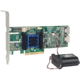 Adaptec 6805Q 8-port SAS Controller - Serial Attached SCSI (SAS) - PCI Express 2.0 x8 - Plug-in Card - RAID Supported - 0, 1, 1E, 5, 5EE, 6, 10, 50, 60, JBOD RAID Level - 512 MB