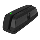 MagTek Centurion 21073075 Magnetic Stripe Reader - Triple Track - 60 in/s - USB - Black