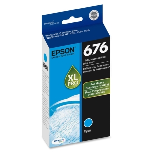 Epson DURABrite Ultra 676XL Ink Cartridge - Cyan - Inkjet